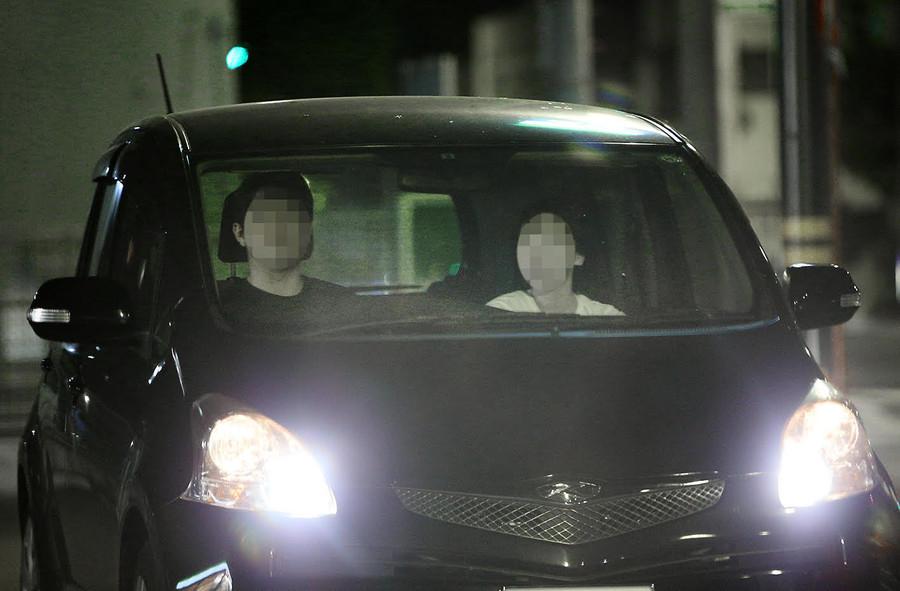 NHKカーセックス正面